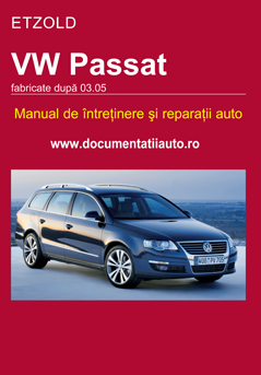 Manual de reparatie VW Passat