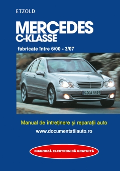 Manual de reparatie si intretinere MERCEDES BENZ C-KLASSE