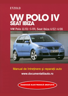 Manual de reparatie si intretinere VW POLO IV si SEAT IBIZA